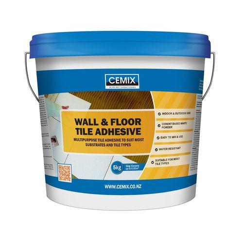 Cemix 5kg Wall & Floor Tile Adhesive