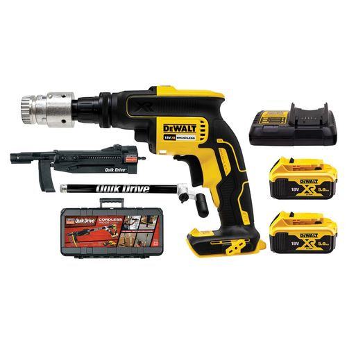 Simpson Strong-Tie Quik Drive PRO300 Cordless Auto-Feed Screw Driving System