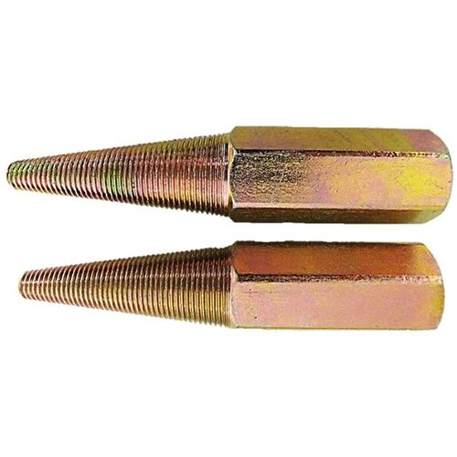 """Josco Left Hand Tapered Spindle 16mm & 5/8""""  2pk"""