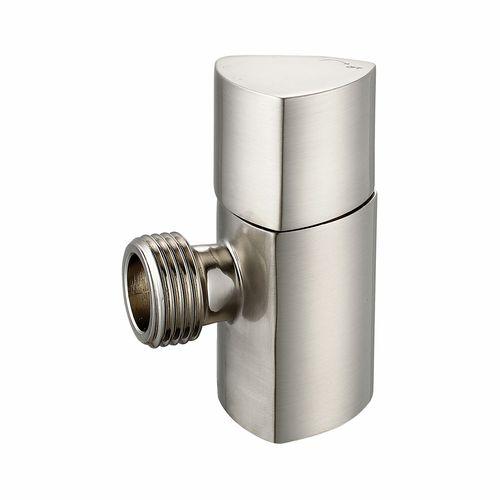 Kinetic 15mm Triangle Satin Chrome Brass Mini Cistern Cock