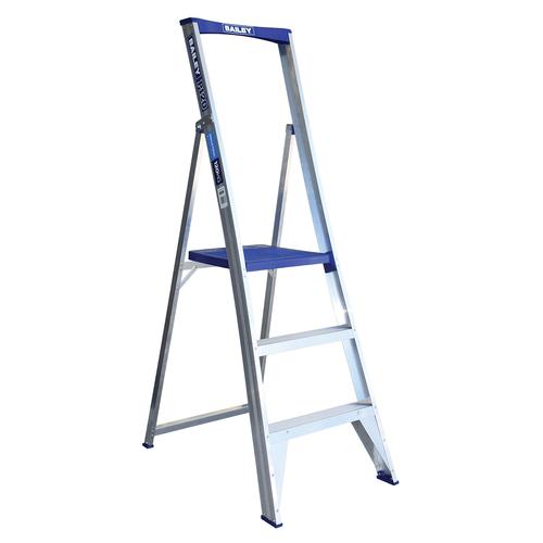 Bailey 0.9m 3 Step Aluminium Platform Ladder