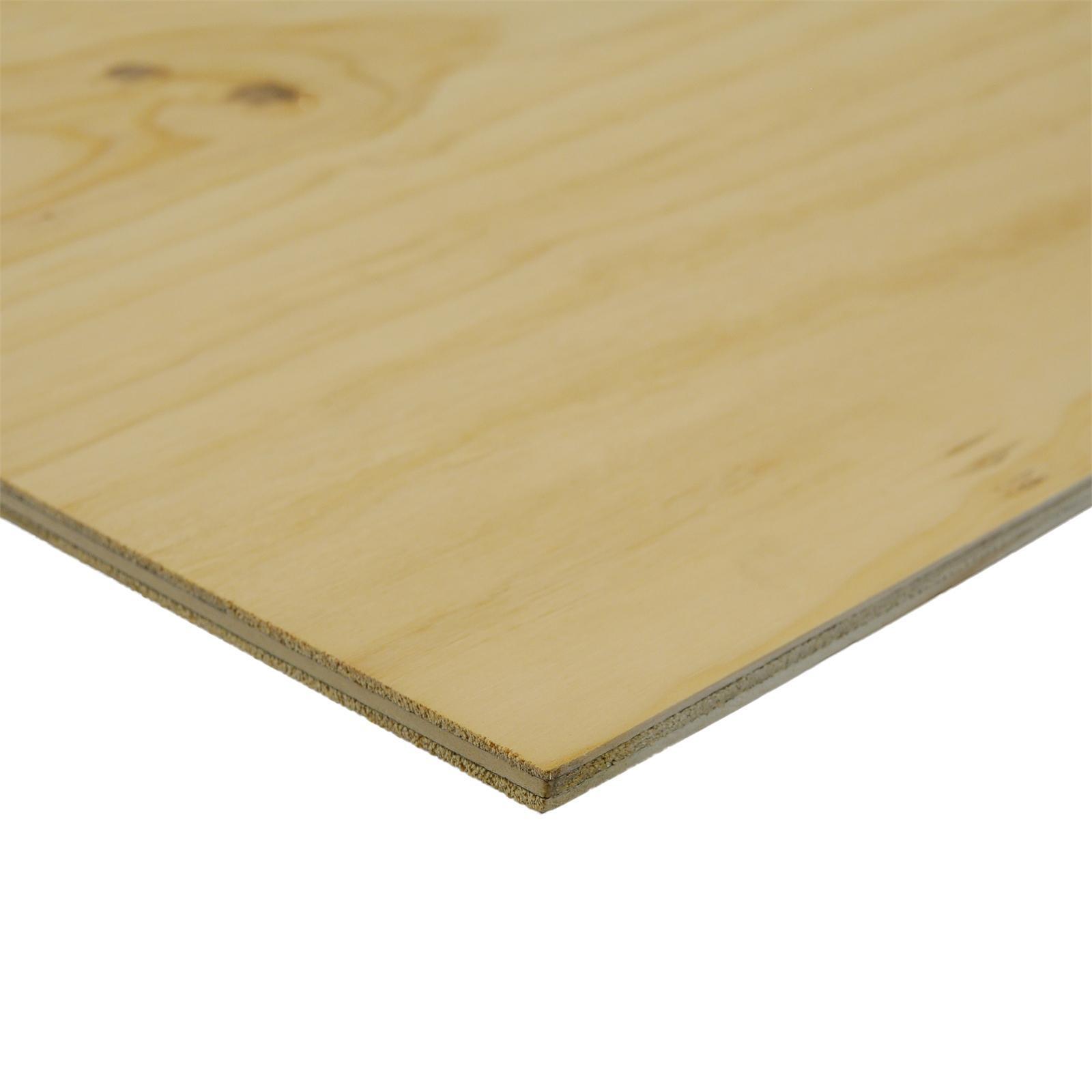 IBS Mini Panels 1200 x 600 x 7mm Untreated CD Plywood
