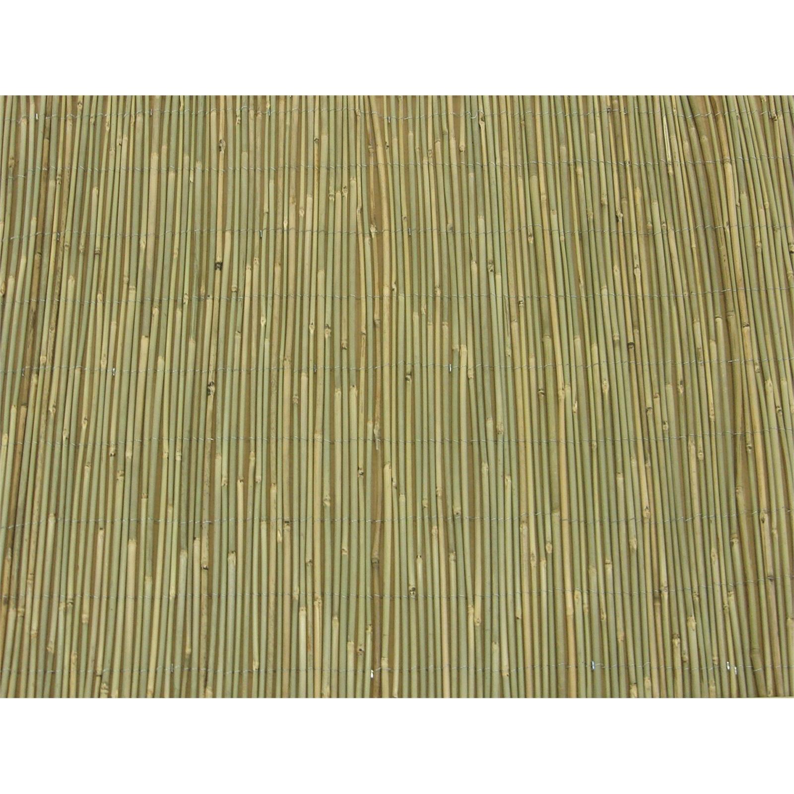 EDEN 1.8 x 3m Natural Bamboo Screen Fencing