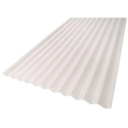 Suntuf 860 x 17mm x 4.8m Opal Standard Corrugated Polycarbonate Roofing Sheet
