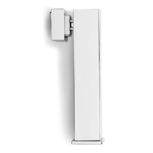Lemaar 128mm Satin Chrome Square Magnetic Pole Door Stop