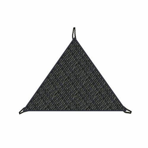 Coolaroo 3m Charcoal Ready-To-Hang Triangle Shade Sail