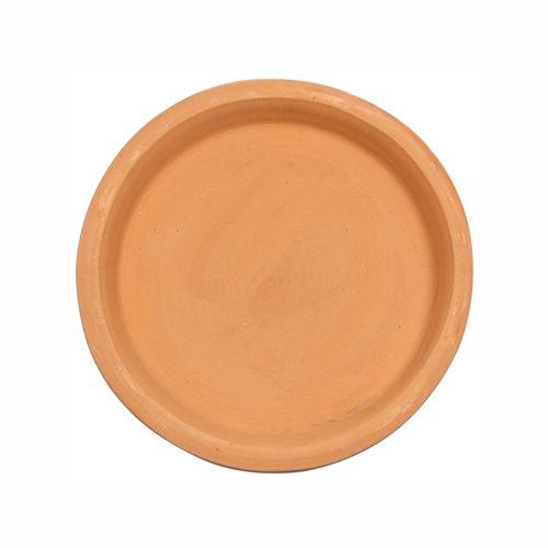 Tuscan Path Terracotta Round Saucer - 250mm
