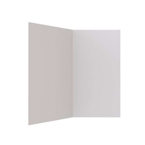 Stein 900 x 750 x 1830mm Two Sided Flat Wall Liner