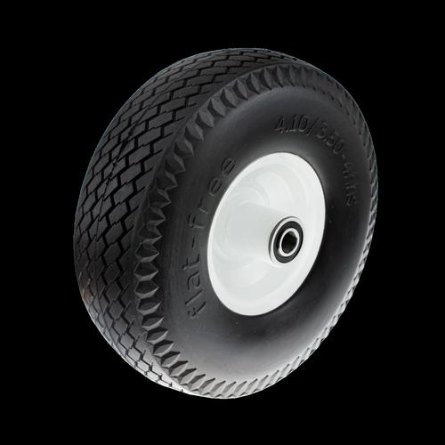 "EHI Ambassador Metal Wheels Flatfree Puncture Proof 350x4"""