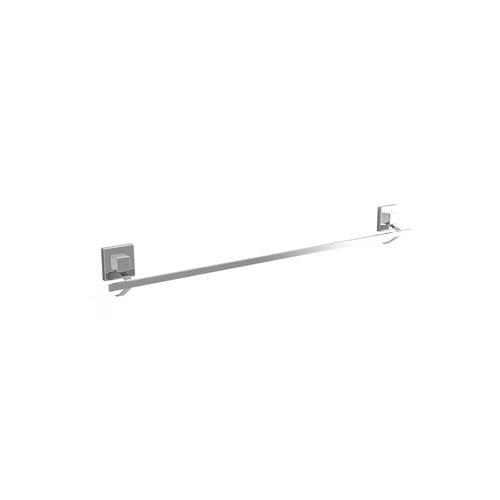 Fusion-Loc 80cm 26kg Stainless Steel Suction Single Towel Rail