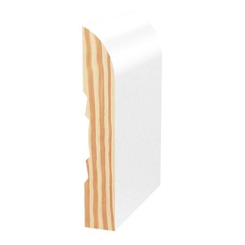 Porta 66 x 11mm 2.7m Primed Bullnose Pine Finger Jointed Moulding