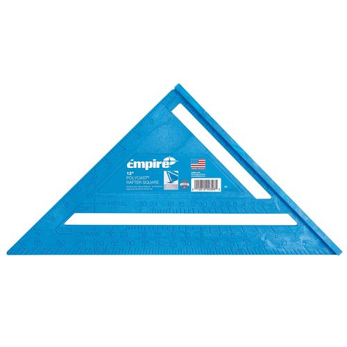"""Empire 12"""" PolyCast Rafter Square"""