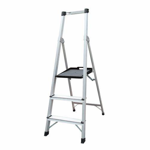 Gorilla Silverback 150kg 3 Step Platform Ladder