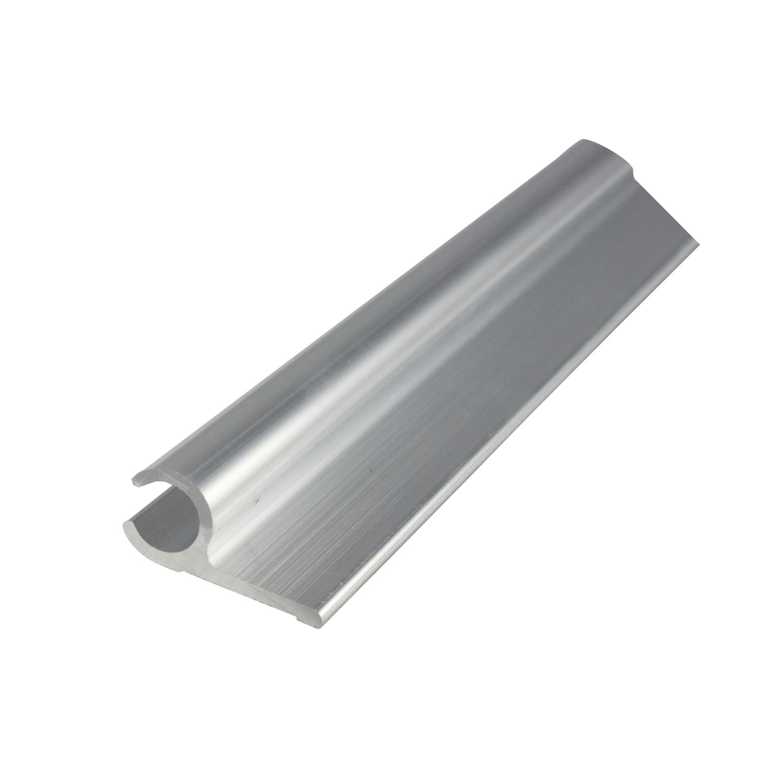 Metal Mate 27.95 x 12.7 x 1.7mm 3m Aluminium Section Sail Track