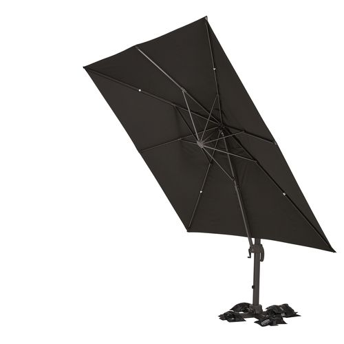 Mimosa 3m Square Charcoal Canopy to Suit Koko Umbrella