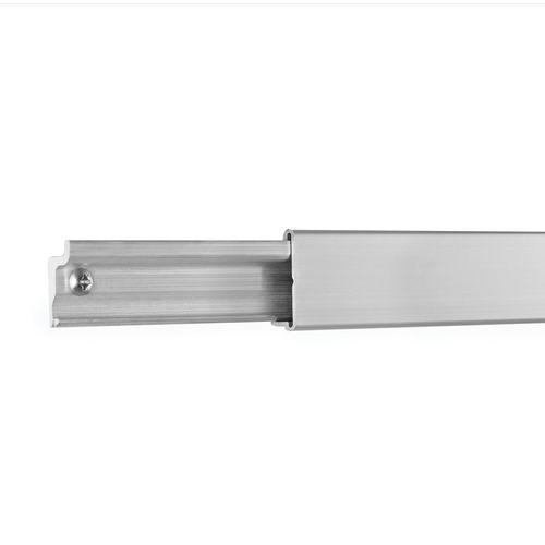 StoreEase 1200mm Brushed Aluminium Mini Rail