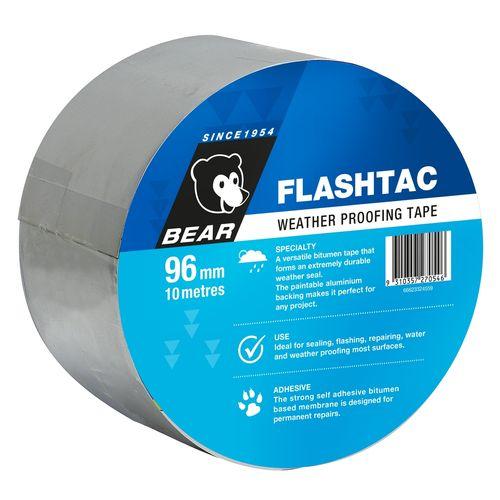 Bear 96mm x 10m Weathproof Flashtac Tape