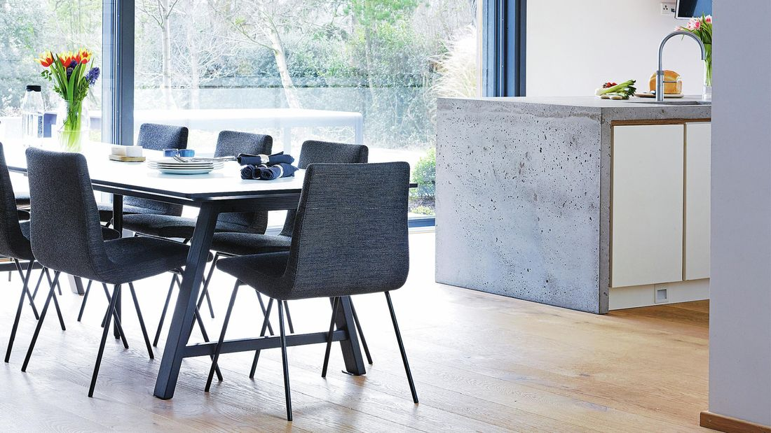 A modern kitchen setting