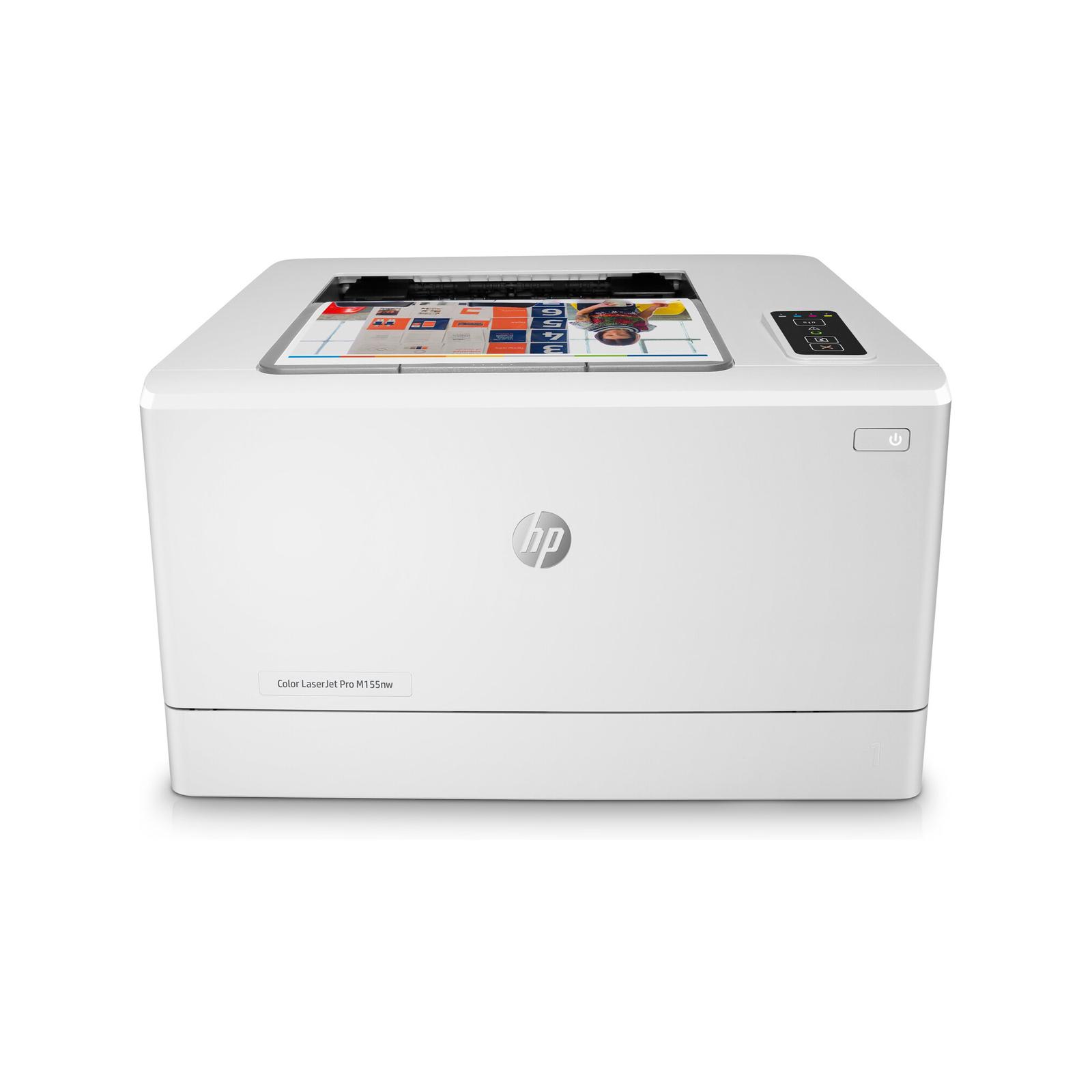 HP Color LaserJet Pro M155nw with 4 Genuine HP Toners- Bundle
