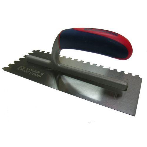 Spear & Jackson 8mm Notched Plasterers Trowel