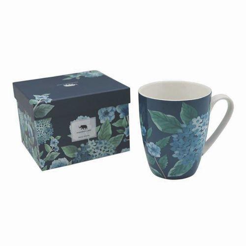 Hydrangea 350ml Blue Mug