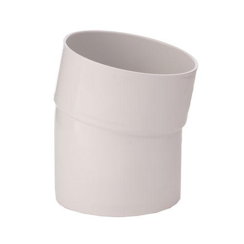 Marley 80mm x 45° White PVC M/F Spigot Bend