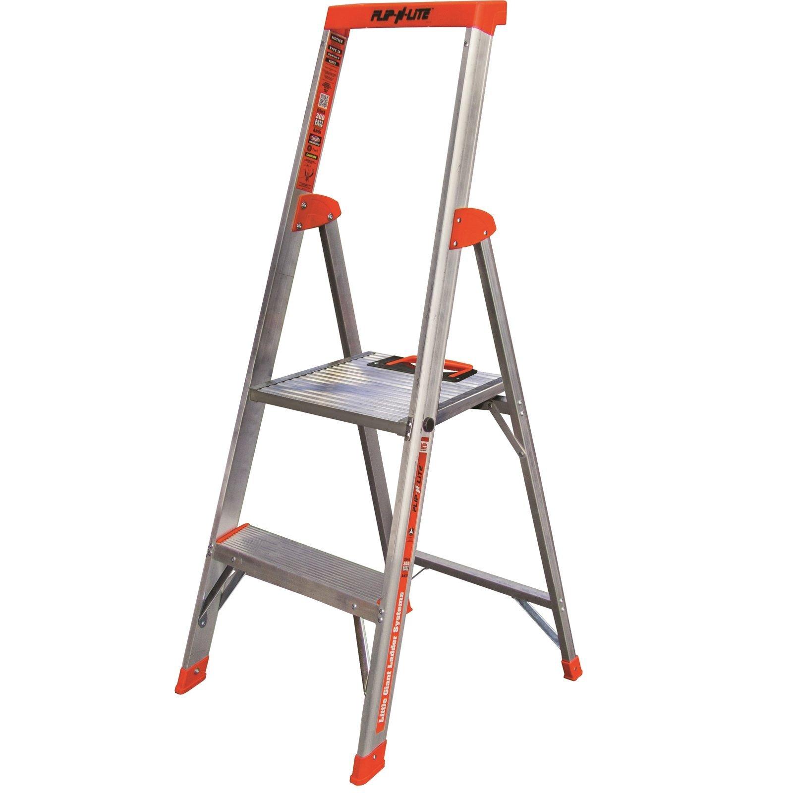 Little Giant 4ft 2 Step Flip-N-Lite Step Platform Ladder