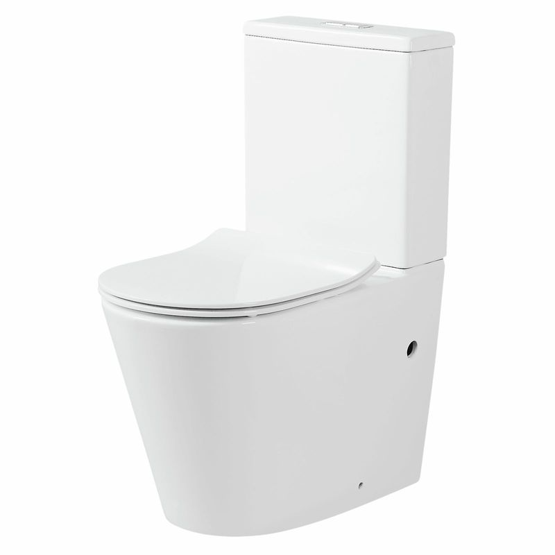 Concerto Back To Wall Rimless Toilet Suite
