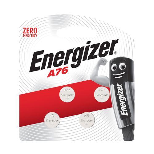 Energizer A76 Alkaline Button Batteries - 4 Pack