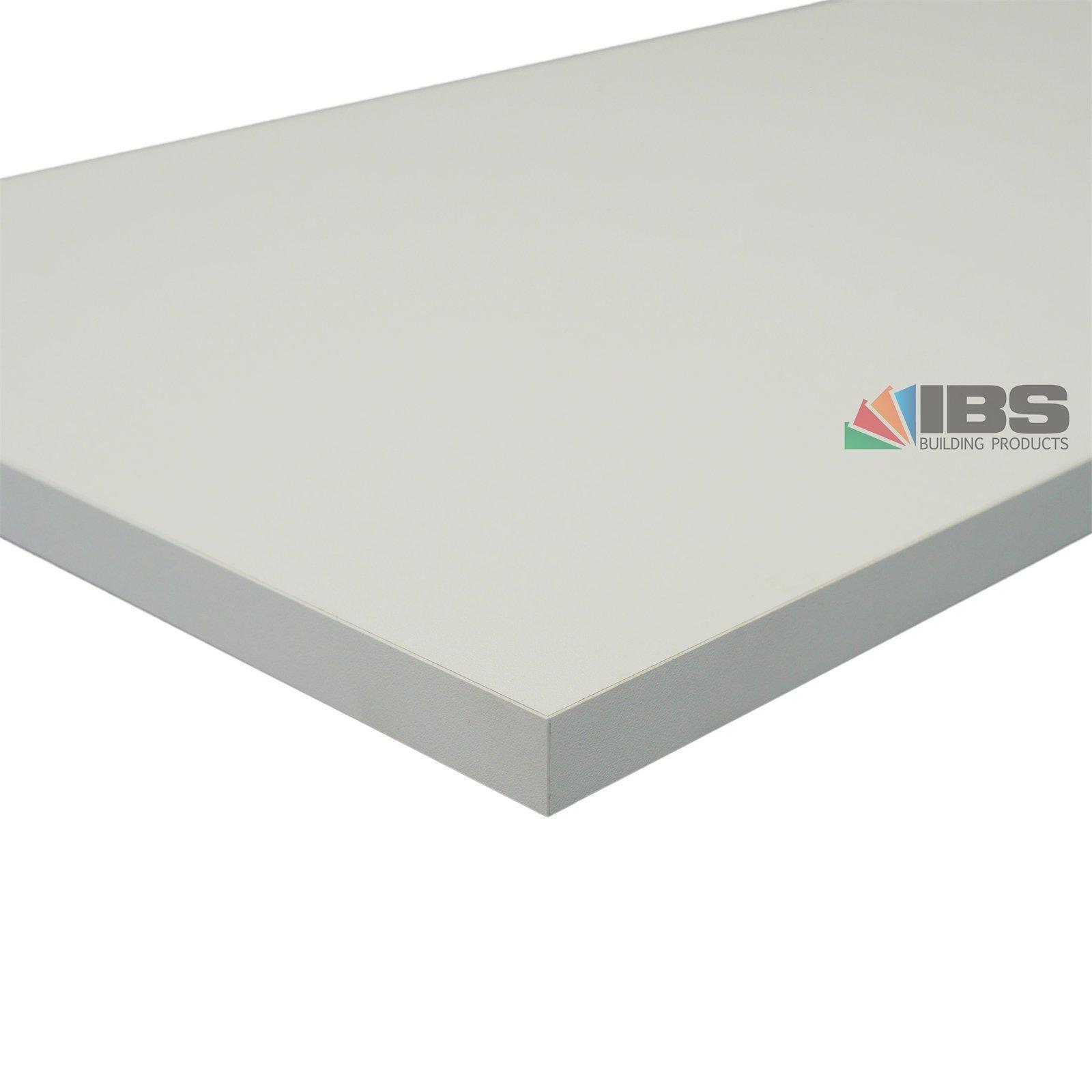 IBS Mini Panel 1800 x 300 x 16mm White Melamine
