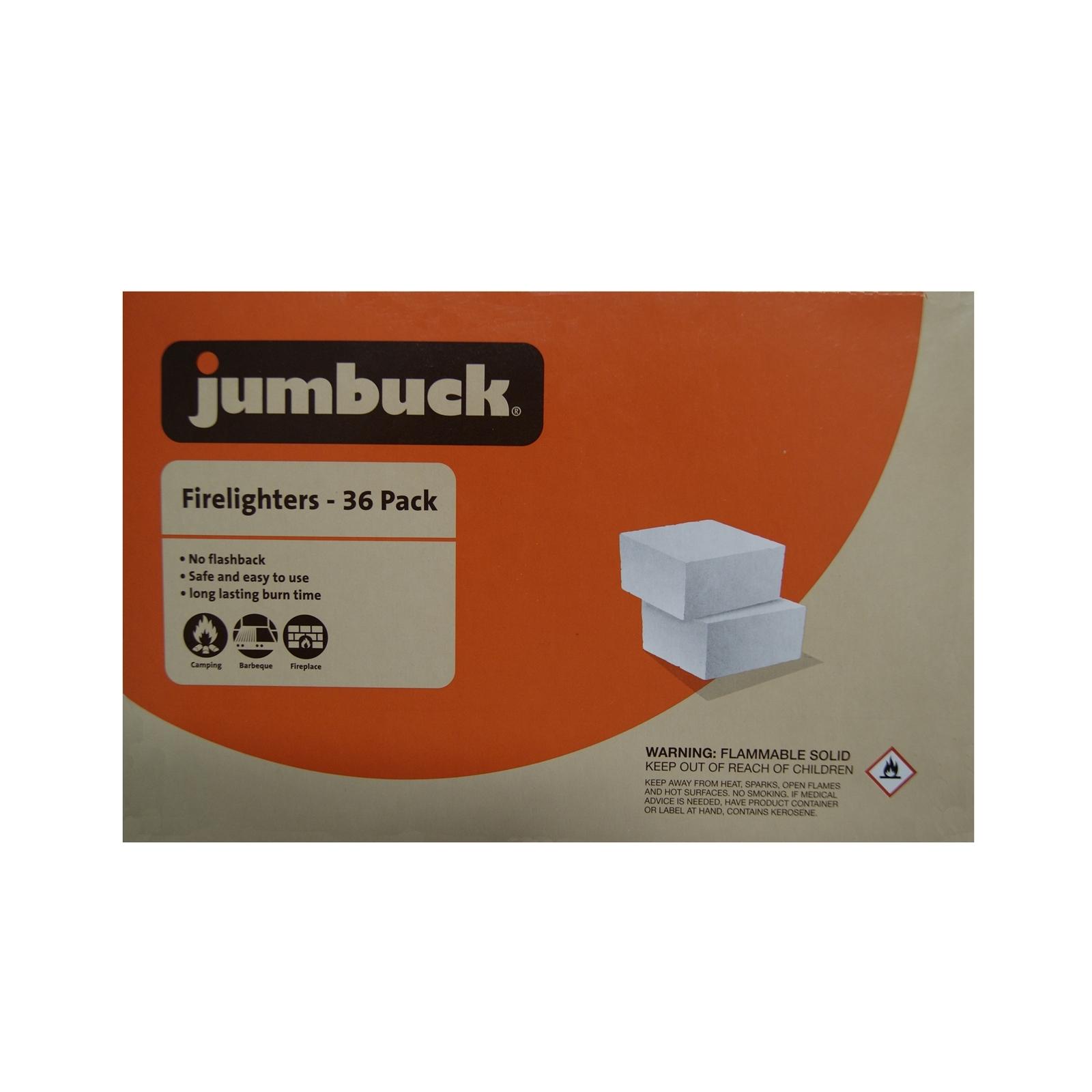 Jumbuck Firelighters - 36 Pack