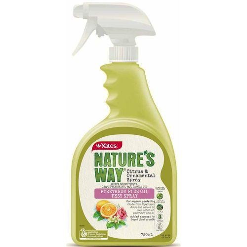Yates 750ml Ready To Use Nature's Way Citrus And Ornamental Spray
