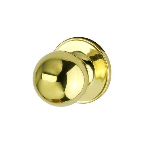 Ikonic Polished Brass Wardrobe Knob Set