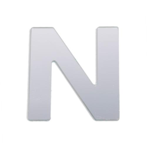 Sandleford 25mm N Silver Self Adhesive Letter
