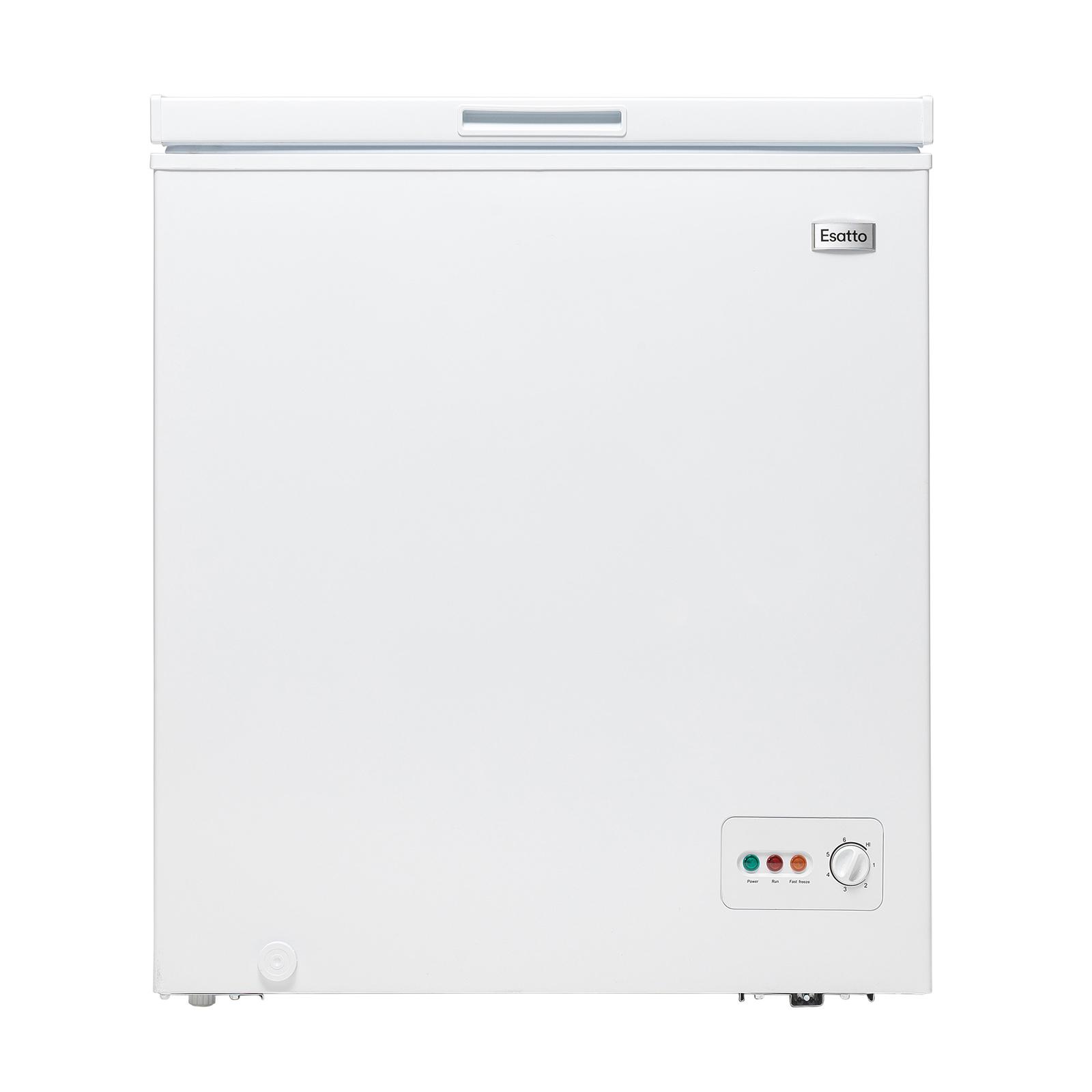 Esatto 146L Chest Freezer White ECF146W