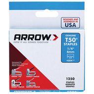 Arrow 6mm T50 Staples - 1250 Pack