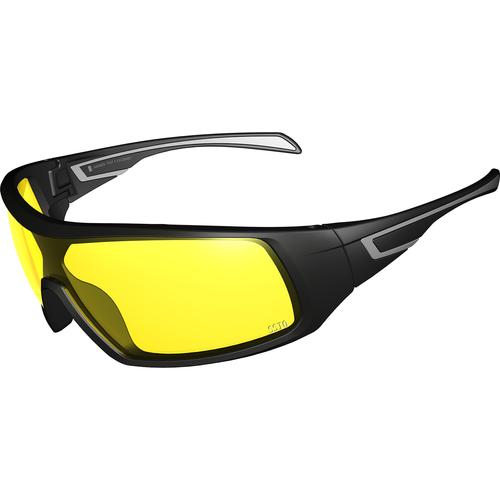 Gardwell Black Frame Amber Lens Glasses