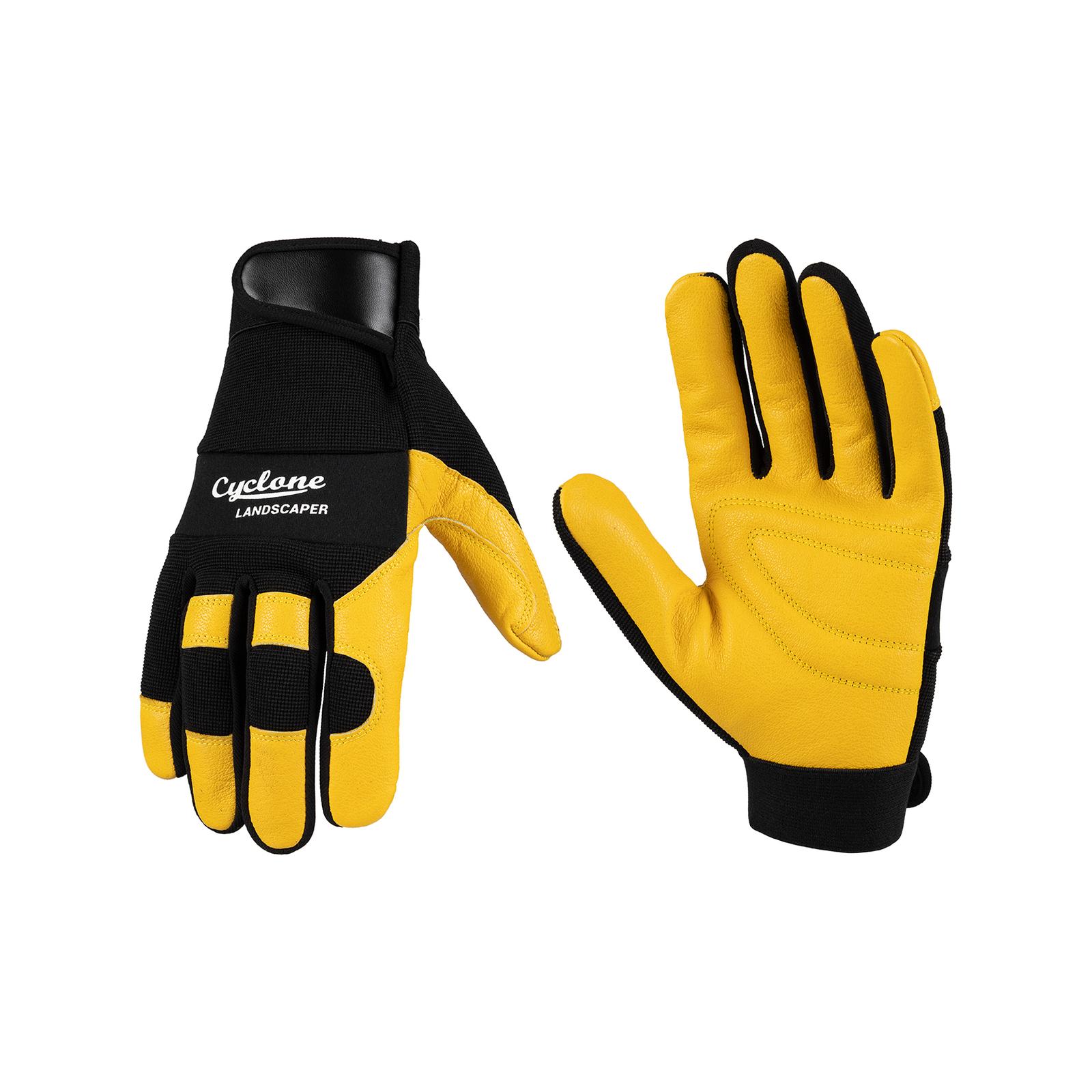 Cyclone Medium Leather Power Garden Gloves