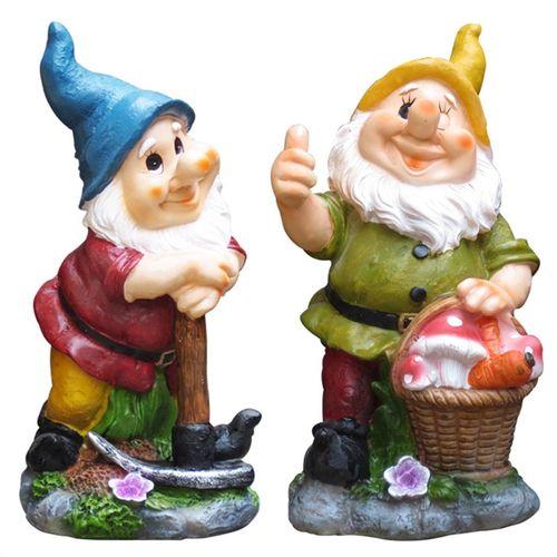 Tuscan Path Forest Dwarves Garden Statue