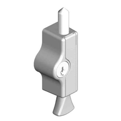 Yale Midi Bolt Window Lock Silver