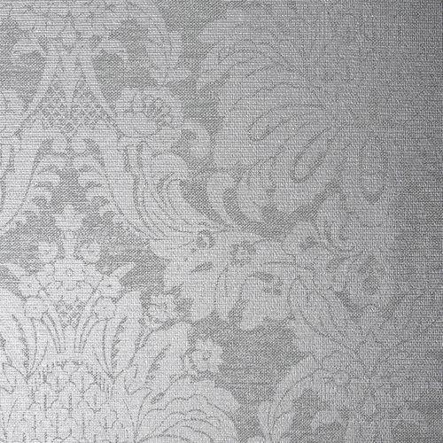 Boutique 1/2m Vogue Dove Grey  Wallpaper Sample