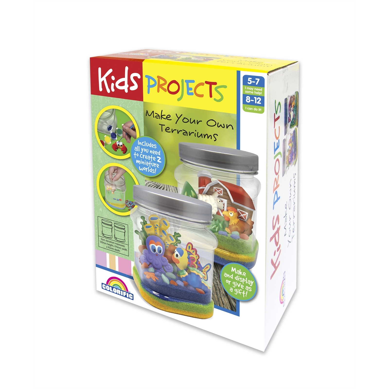 Kids Projects Make Your Own Terrariums Craft Kit
