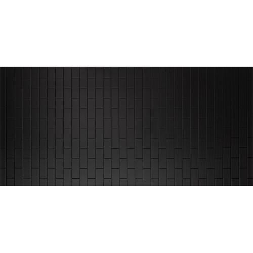 Seratone 2400 x 1200 x 4.5mm Black Aqua Subway Tile
