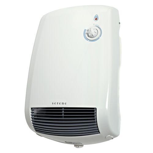 Serene 2200W White Roma Wall Heater