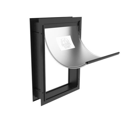 Hakuna Pets Medium Black Deluxe Aluminium Pet Door