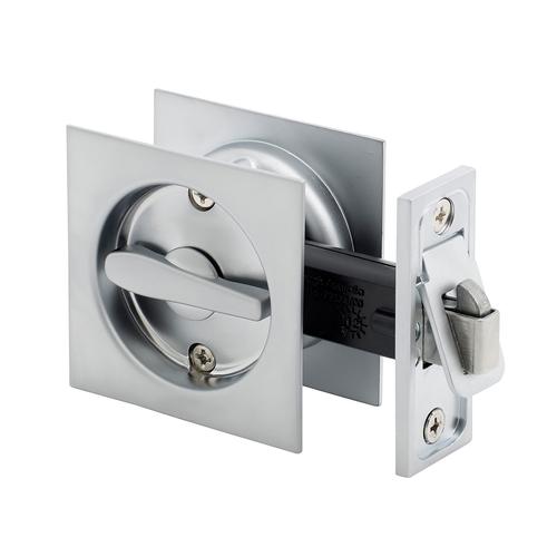 Schlage™ Satin Pearl Square Privacy Cavity Slider