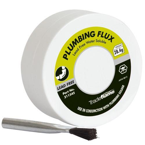 Tradeflame Plumbing Flux And Brush