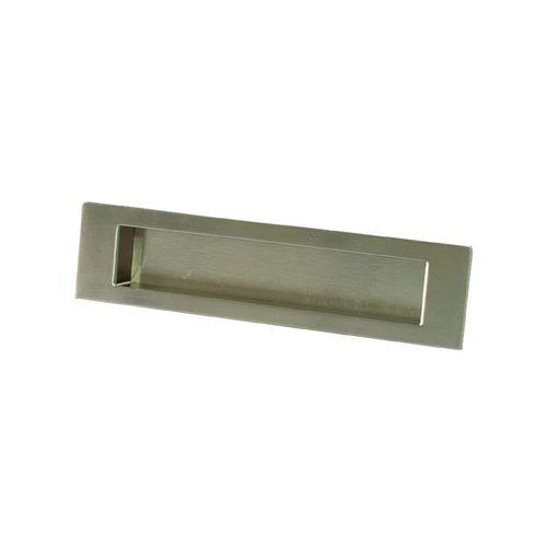 Sylvan Flush Pull 146mm Satin Nickel Plate