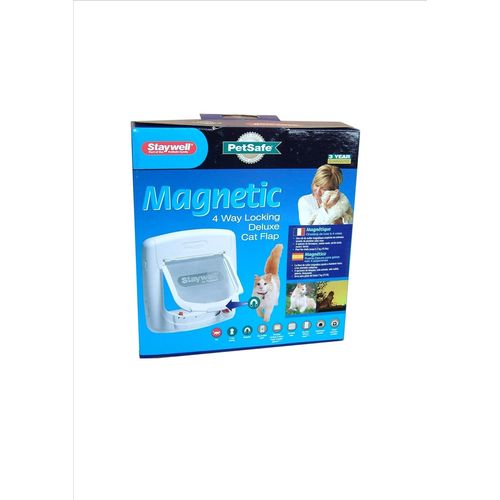 Staywell Pet Door Automagnetic White (universal) PET400