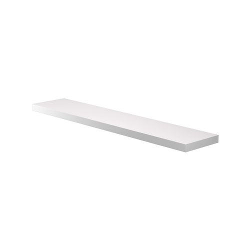 Flexi Storage Decorative Shelving 1200 x 38 x 240mm Matte White Floating Shelf